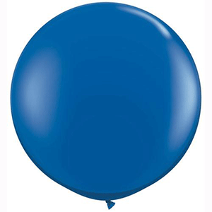 dark blue 3ft giant helium balloon