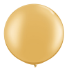 gold 3ft giant latex balloon