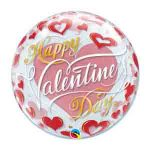 happy valentines day balloon