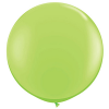 lime green balloon 3ft giant
