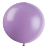 large purple helium balloon