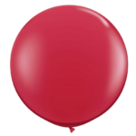 red balloon ft helium filled