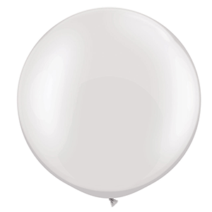 large white 3ft balloon