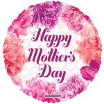 happy mothers day floral balloon