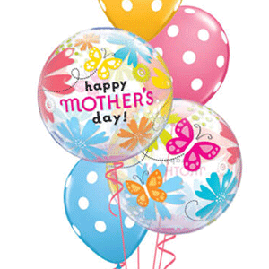mothers day bouquet balloons