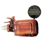 Star wars The force Awakens helium shaped Balloon Rey