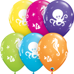 Sealife Party Balloons