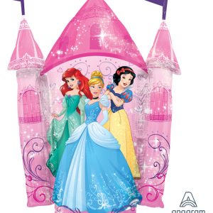 Disney Princess Castle Shaped Balloon
