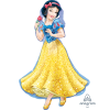 princes snow white balloon helium filled