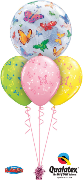 pretty butterflies balloon bouquet