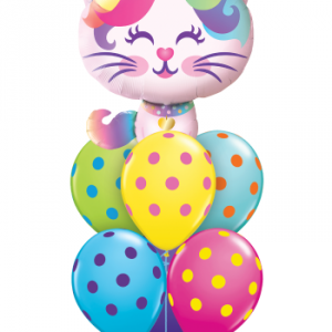 Cute Cat Balloon Bouquet