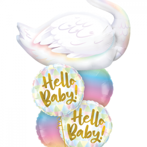Baby balloon arrangement