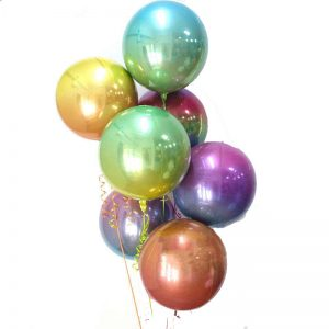 Pastel Orb balloon Arrangement