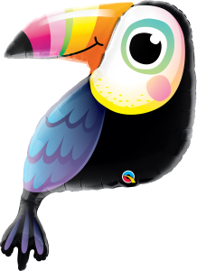 Toucan Balloon Colourful