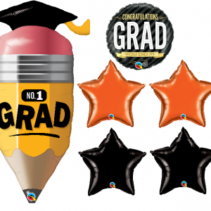 congratulation graduation balloon bouquet