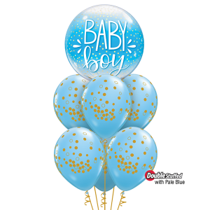 Baby Boy Balloon Arrangement