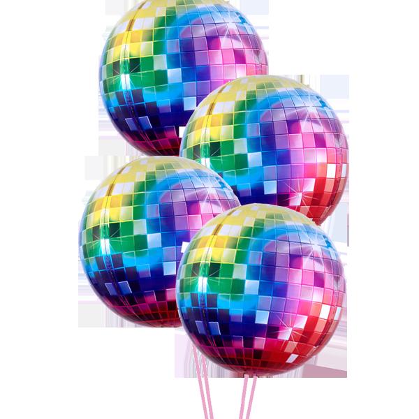 Disco Party Balloons