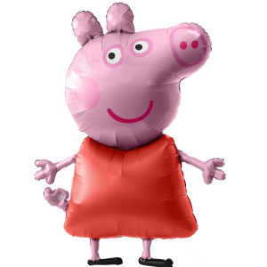 peppa pig airwalker balloon