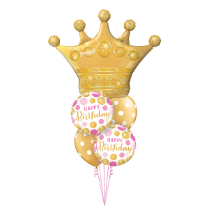 Birthday Queen Balloons