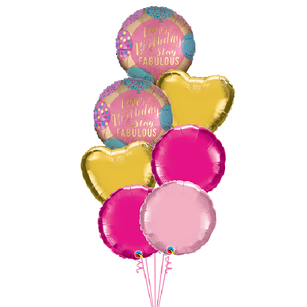 stay fabulous birthday balloon