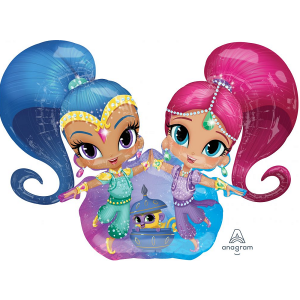 Shimmer and Shine large airwalker balloon