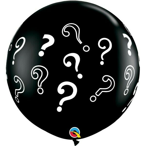 Question Mark Gender Reveal Balloon