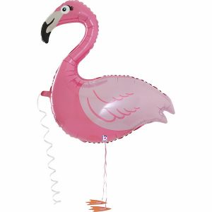Flamingo Airwalker Helium Inflated